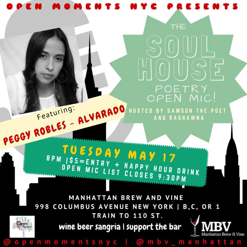 Open Moments NYC - The Soul House - Poetry Reading